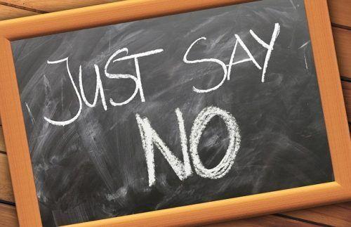 """¿ TE CUESTA DECIR QUE """"NO""""?"""