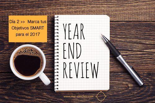 Día 2 : Marca tus Objetivos para el 2017